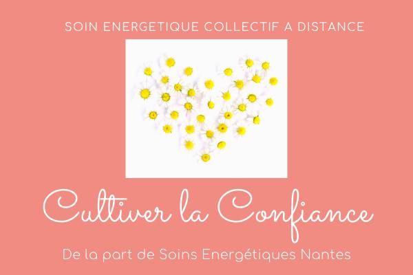 soins energetique collectif a distance - cultiver la confiance