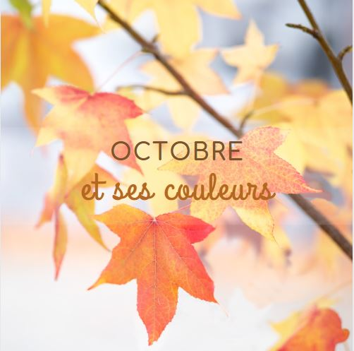 Tendance du mois d'Octobre